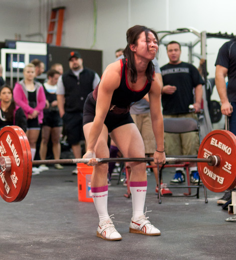 Jenn Deadlifting in Pleasanton
