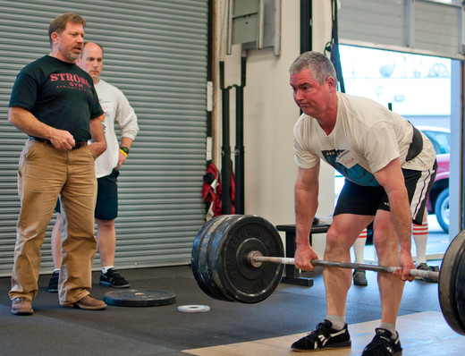 Rippetoe coaching the deadlift