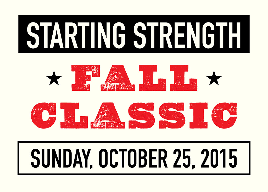 Starting Strength Fall Classic Logo